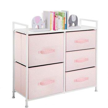 mDesign Wide Dresser Storage