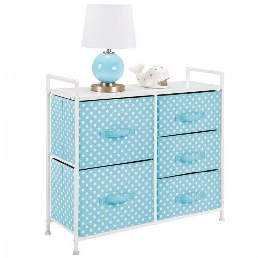 mDesign Dresser 5 Drawers
