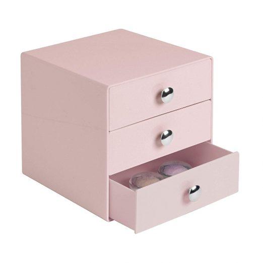 Plastic 3-Drawer Vanity Organizer