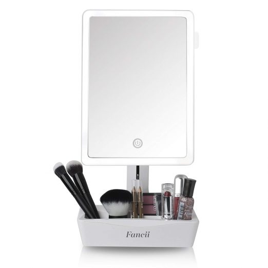 LED Lighted Large Vanity Makeup Mirror