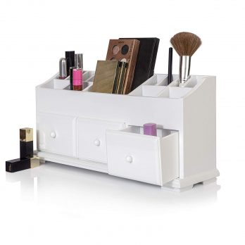 Vanity Drawer Wood Organizer