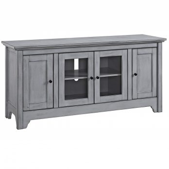 WE Furniture Antique Grey 52″
