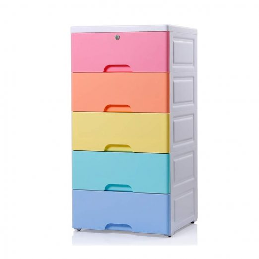 Plastic Cabinet 5 Drawers