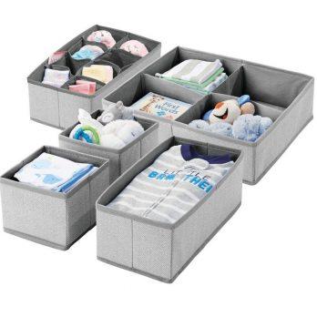 Soft Fabric Dresser Drawer