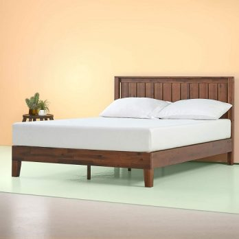 Zinus Solid Wood Platform Bed