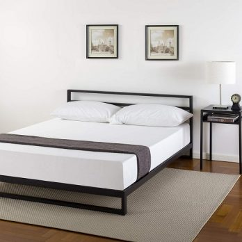 Zinus Platforma Bed Frame with Headboard
