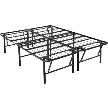 Foldable, Metal Platform Bed Frame