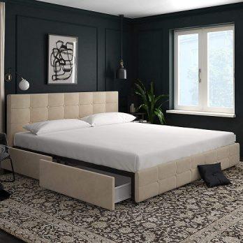 Storage Upholstered Bed