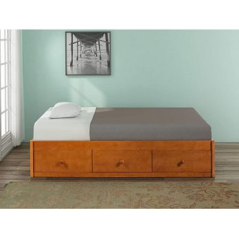 Twin Storage Bed Wood