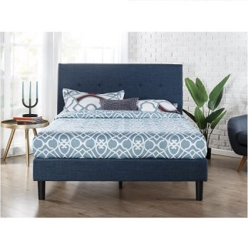Zinus Upholstered Bed Queen / King / Full