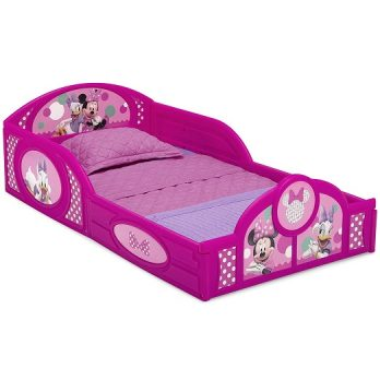 Plastic Sleep and Play Toddler Bed