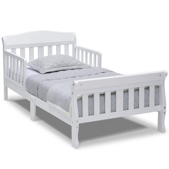 Canton Toddler Bed, White