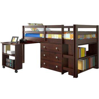Low Study Loft Bed