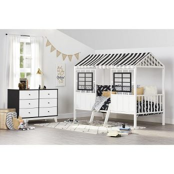 Valley Forest Loft Bed, Twin