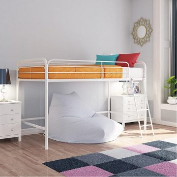 Junior Loft Bed Frame With Ladder