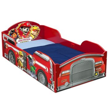 Wood Toddler Bed, PAW Patrol